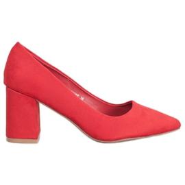 Seastar Eleganta pumpar röd