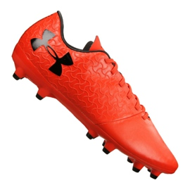 Under Armour Magnetico Välj Fg M 3000115-600 fotbollsskor röd
