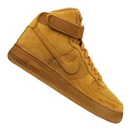 Nike Jr Air Force 1 High Lv 8 Gs Jr 807617-701 skor gul