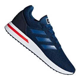 Adidas Run 70S M F34820 skor marinblå