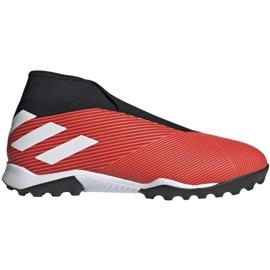 Adidas Nemeziz 19.3 Ll Tf M G54686 fotbollsskor svart, röd röd