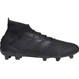 Fotbollsstövlar adidas Predator 19.1 Fg M svart
