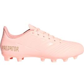 Adidas Predator 18.4 M FxG DB2008 fotbollsskor rosa rosa