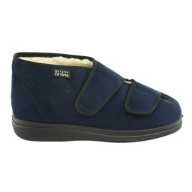 Befado damskor pu 986D010 marinblå