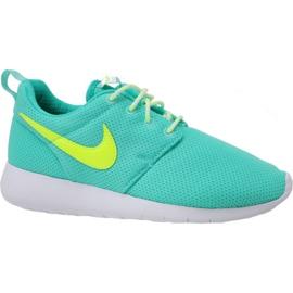 Nike Roshe One Gs W 599729-302 skor blå