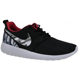 Nike Roshe One Print Gs W skor 677782-012 svart