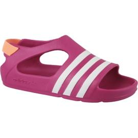 Adidas Adilette Play I Jr B25030 sandaler rosa