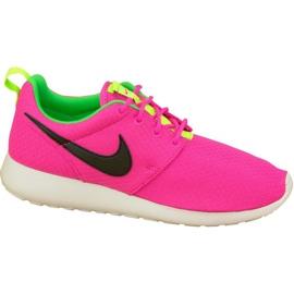 Nike Rosherun Gs W 599729-607 skor rosa