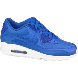 Nike Air Max 90 Ltr Gs W 724821-402 skor marinblå
