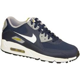 Nike Air Max 90 Gs W 307793-417 skor marinblå