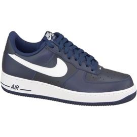 Nike Air Force 1 '07 M 488298-436 skor marinblå