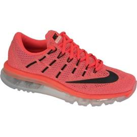 Nike Air Max 2016 skor i 806772-800 röd