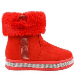 Isolerade röd mocka Eskimos K-356