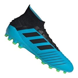Adidas Predator 19.1 Ag M F99970 fotbollsskor blå blå