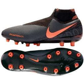 Nike Phantom Vsn Elite Df Ag Pro M AO3261-080 fotbollsskor svart