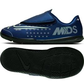Nike Mercurial Vapor 13 Club Mds Ic PS (V) Jr CJ1176-401 inomhusskor marinblå