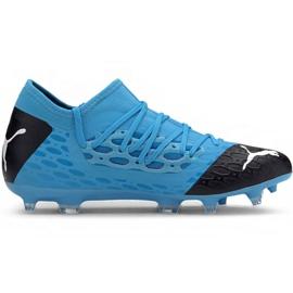 Puma Future 5.3 Netfit Fg Ag M 105756 01 fotbollsskor blå blå