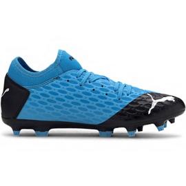 Puma Future 5.4 Fg Ag M 105785 01 fotbollsskor blå