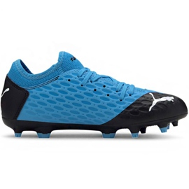 Puma Future 5.4 Fg Ag Jr 105810 01 fotbollsskor blå
