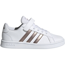 Adidas Grand Court C Jr EF0107 skor vit