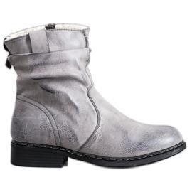 Super Me Varma Cowboy-stövlar grå