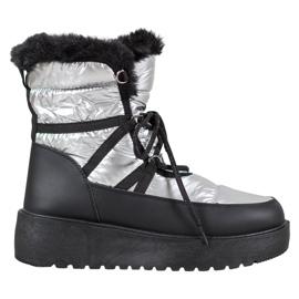 Bella Paris Mode snöstövlar grå