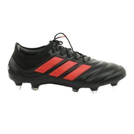 Adidas Copa 19.1 Sg M G26642 Fotbollsstövlar svart