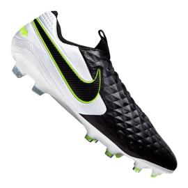 Nike Legend 8 Elite Fg M AT5293-007 fotbollsskor vit, svart