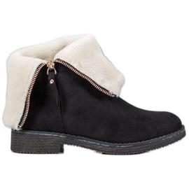 Kayla Suede Boots svart