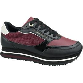 Tommy Hilfiger Tommy Retro märkes sneaker W FW0FW04305 Gby röd