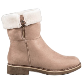 Kayla Suede Boots brun