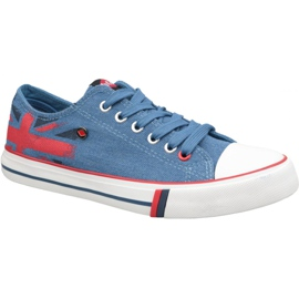 Lee Cooper Low Cut 1 W LCWL-19-530-032 skor blå