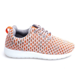 Roshe KA537 Orange Sport Running Sneakers apelsin