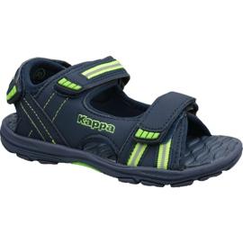 Kappa Symi K 260685K-6730 sandaler marinblå