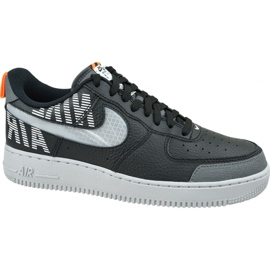 Nike Air Force 1 '07 LV8 2 M BQ4421-002 skor svart