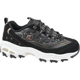 Skechers D'Lites W 13087-BKRG skor svart