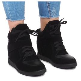 Wedge Sneakers LA-70 Svart