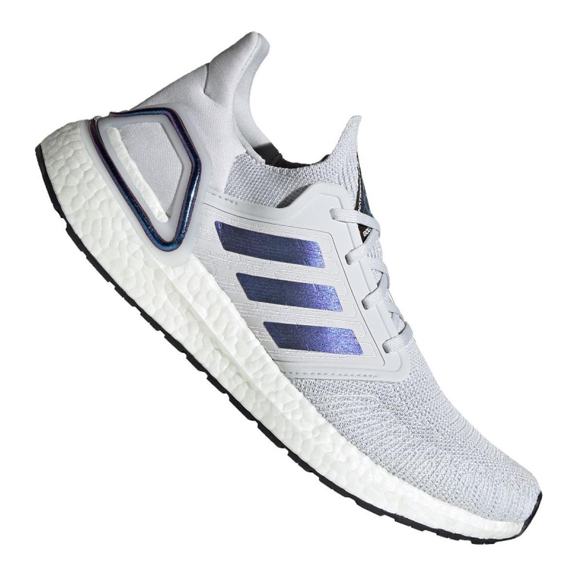 Adidas UltraBoost 20 M EG0695 skor grå