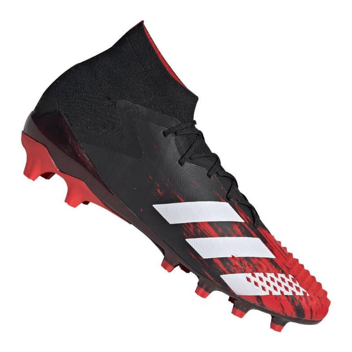 försäljning Storbritannien mest populär separationsskor Adidas Predator 20.1 Ag M EF1632 skor svart, röd svart - ButyModne.pl