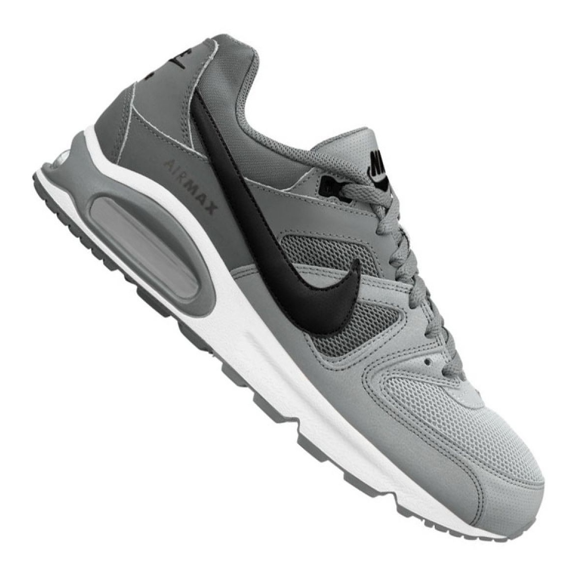 Nike Air Max Command Leather Men Lifestyle Sneakers Shoes New Grey 749760 012