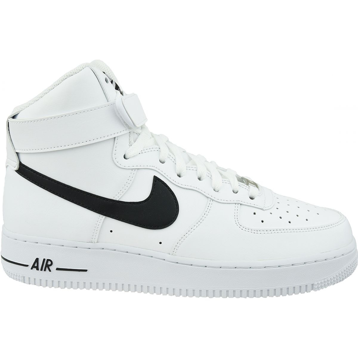 nike air Force 1 stora barnsko vit