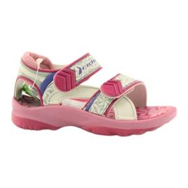 Rosa sandaler barnskor för vatten Rider 80608 ['skuggor av rosa', 'skuggor av grått och silver', 'biel']
