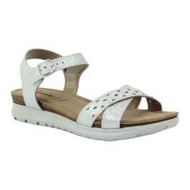 Sandaler inlägg Inblu 038 silver grå 1