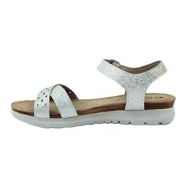 Sandaler inlägg Inblu 038 silver grå 2