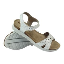 Sandaler inlägg Inblu 038 silver grå 3