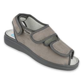 Befado kvinnors skor pu 676D006 grå 1