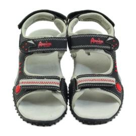 American Club Amerikanska sandaler barnskor läder innersula 4