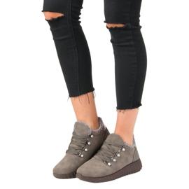 Kylie Suede sneakers brun 4