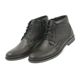 Riko mäns skor booties Jodhpur 861 svart 3