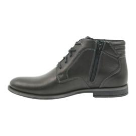 Riko mäns skor booties Jodhpur 861 svart 2